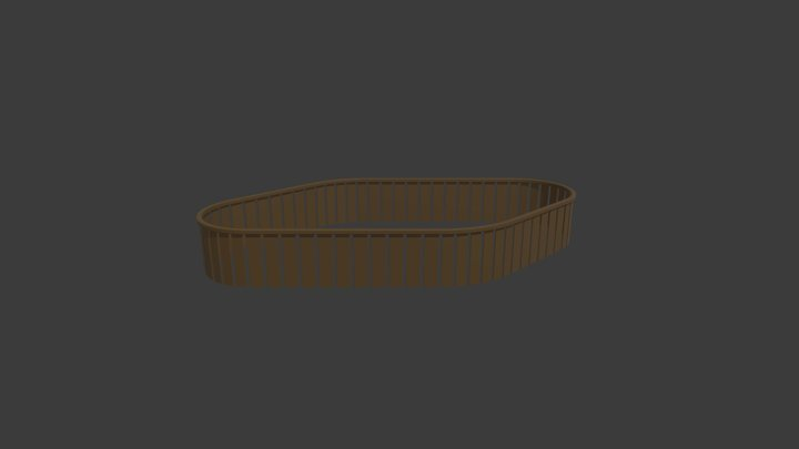 33982 1ST FLOOR GALLERY 3D Model