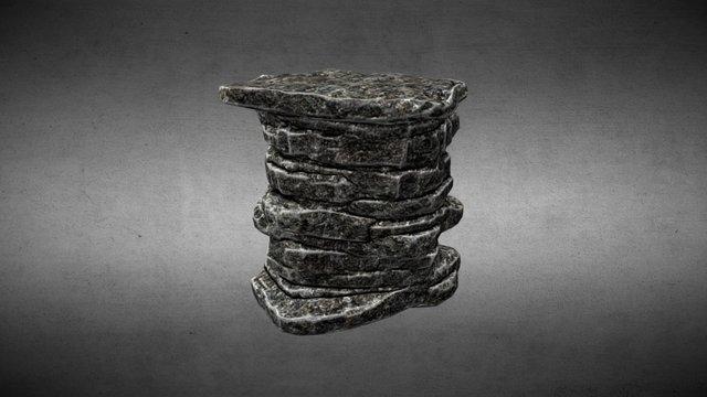 rock formation 3D Model