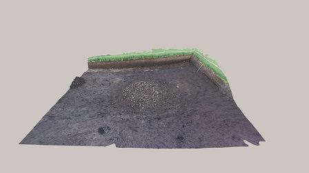 Røys Uthuskrysset, Stange 3D Model