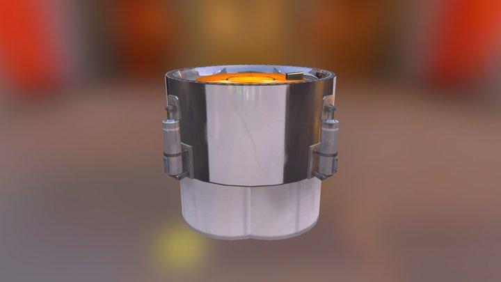 QuadRaPoodal 3D Model