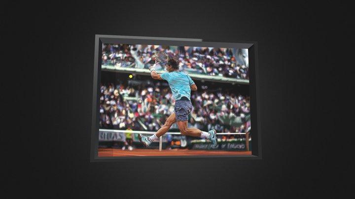 Rafael Nadal 3D Model