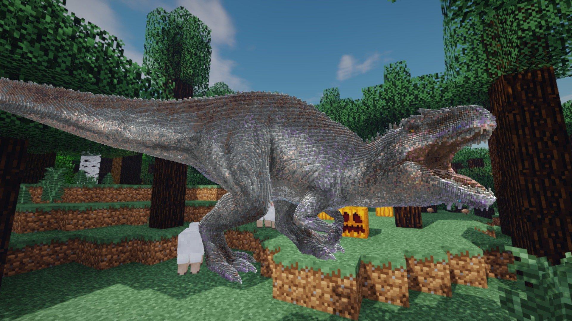майнкрафт динозавры ютуб #10