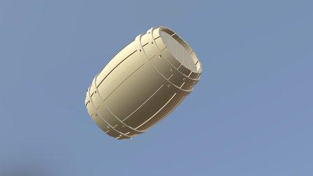Simple Barrel 3D Model