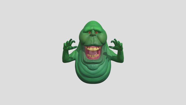Slimer from Ghostbusters 3D Model