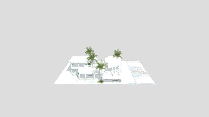 Villa V V2 3D Model