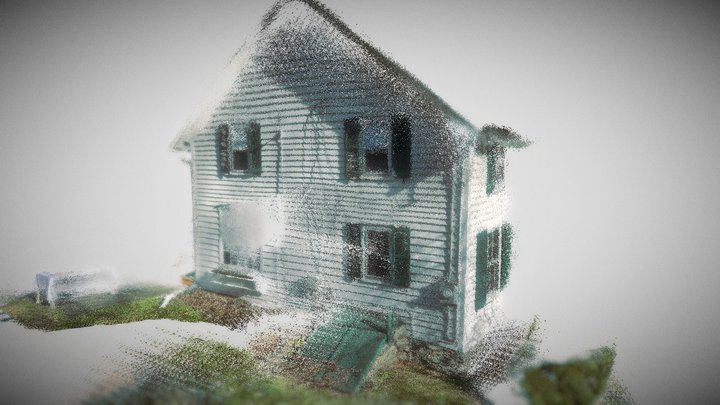OldHouse_House1 3D Model