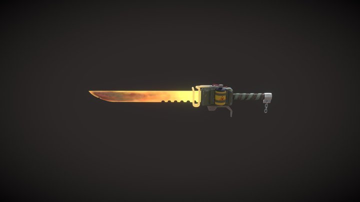 Induction Blade 3D Model