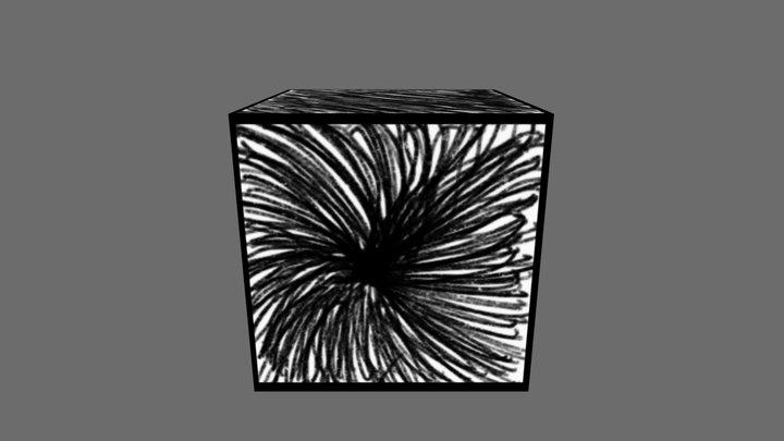 Sketch texture test 3D Model