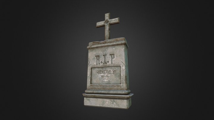 Riddley's Tombstone 3D Model