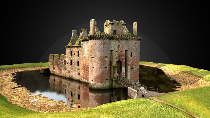 Caerlaverock Castle 3D Model