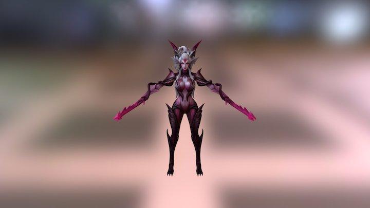Zyra Dragon Sorcerer Recolor 3D Model