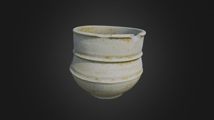 Vase mérovingien - version mobile 3D Model