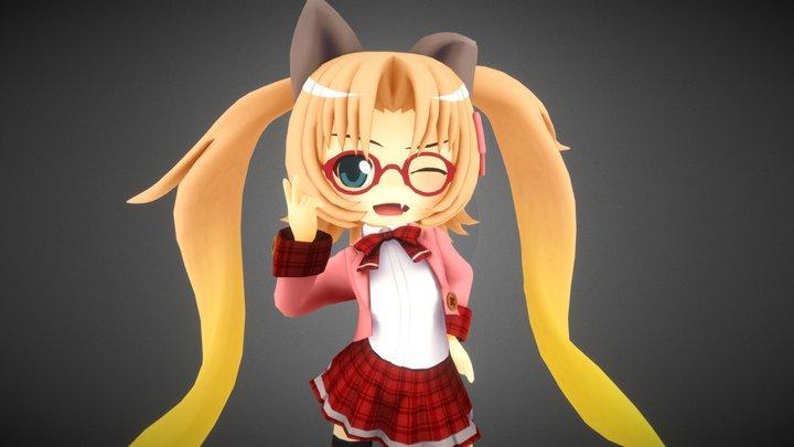 Madoka Machida 3D Model