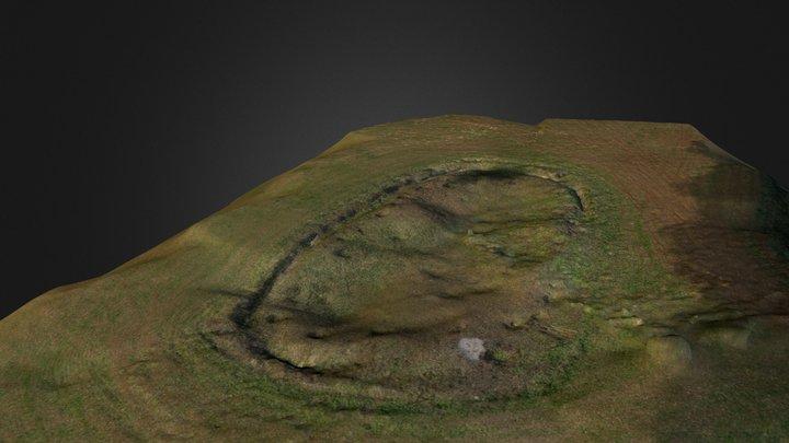 UAV survey Blackquarries Hill Long Barrow 3D Model
