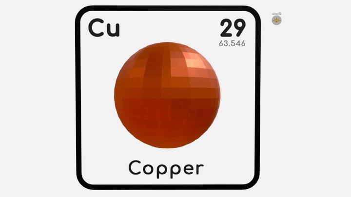 Copper 3D Model