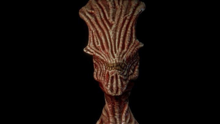 flesh priest 3D Model
