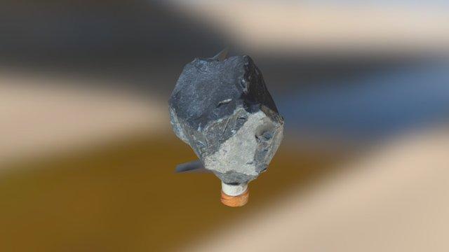 Small slate rock 3D Model