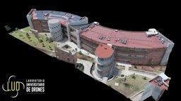 Docencia (Edificios A y B) 3D Model