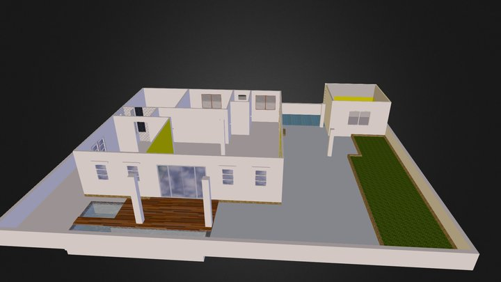 layer0 house 3D Model