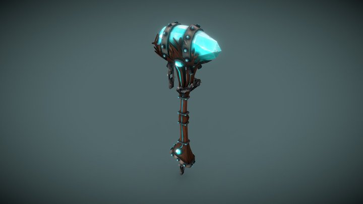 1DAE04_Leo_Newman_GameArtWeaponCraft 3D Model