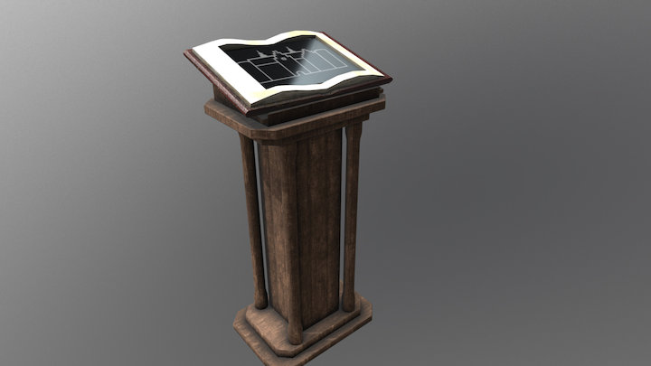 Displaystand for Gl Estrup 3D Model