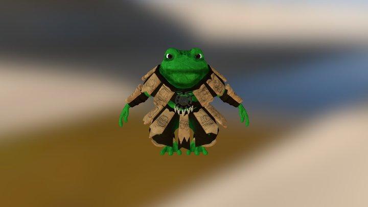 Huix Warrior 3D Model