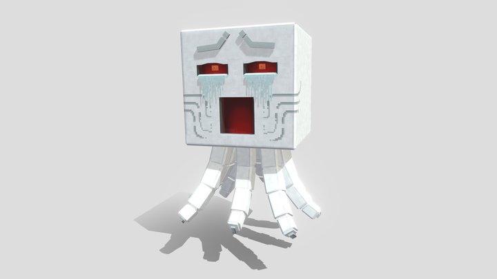 HD Ghast [ Minecraft Bedrock Edition ] 3D Model