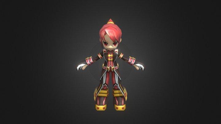 Elesis - Justiceira 3D Model