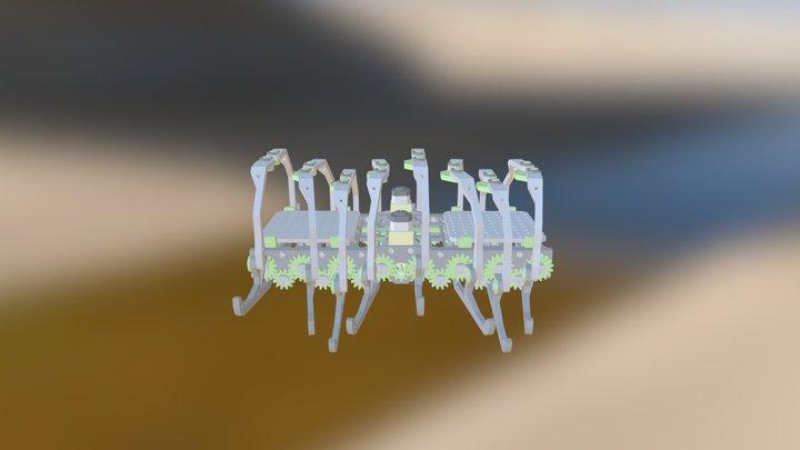 Megapede 3D Model