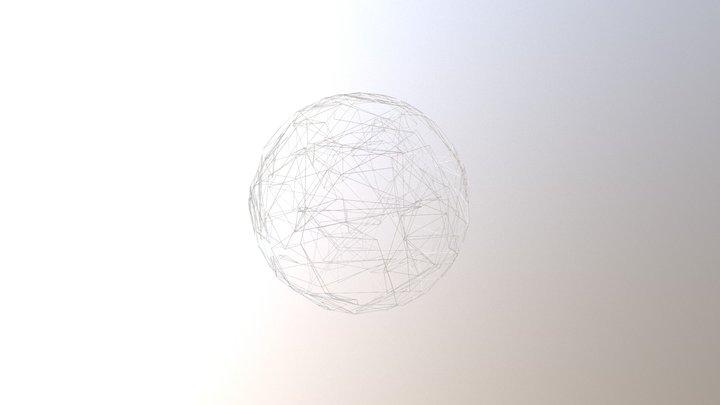 Sphere Bones 3D Model