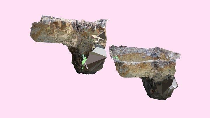 The model of WW2 war dead's grave  3/3 3D Model