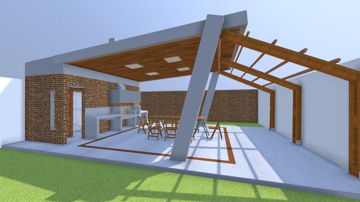 Quincho Traverso 1 3D Model