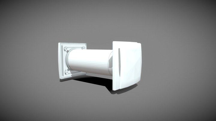 JCB Recuperator 3D Model
