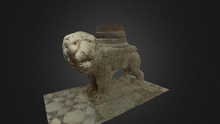 Leone stiloforo 3D Model