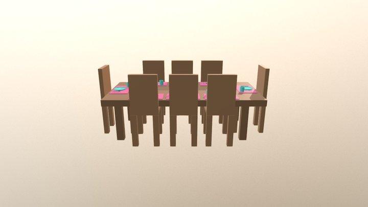 Comedor 3D Model