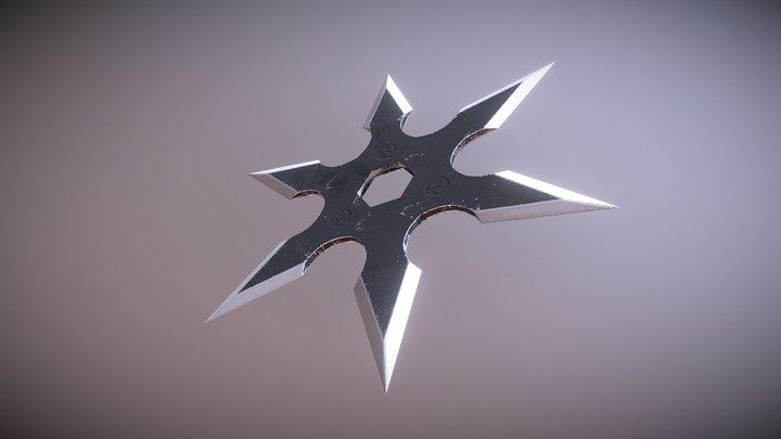 Shuriken 2 - weapon 3D Model