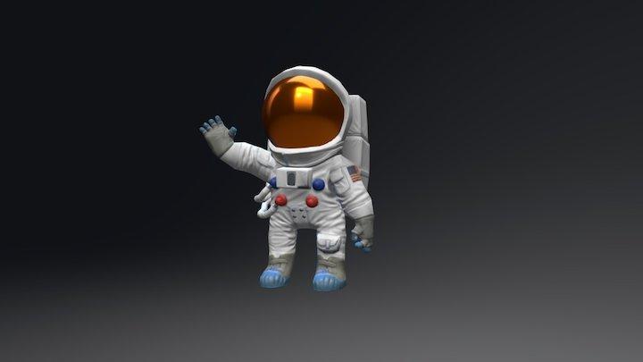 Moon Walk 3D Model
