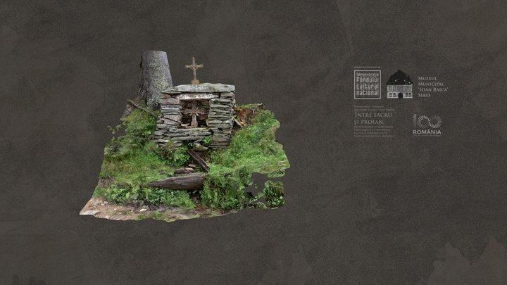 Crucea lu' Todor, Jidoștina 3D Model