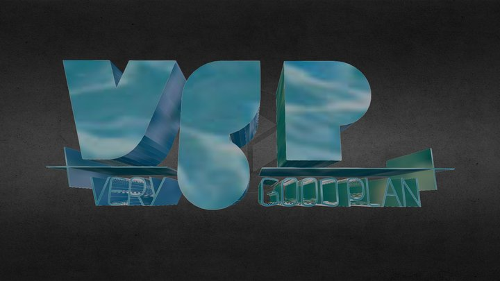 Logo VGP 3D Model