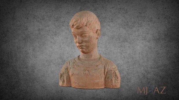 Romul Ladea-Cap de copil 3D Model