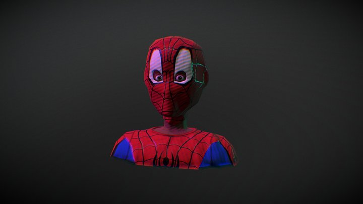 Miles Morales / Spider-verse 3D Model