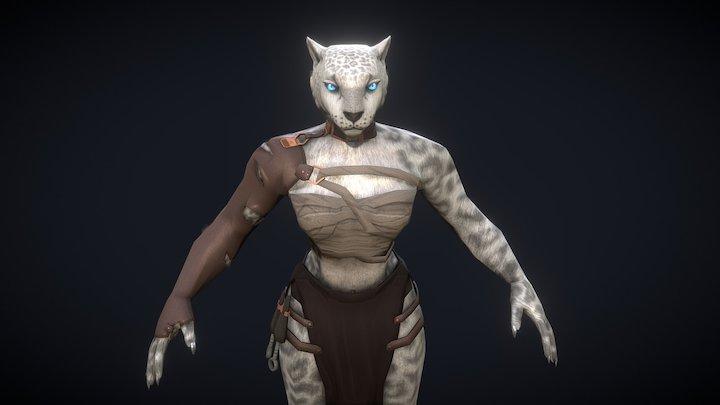 Foehammer LLC's Assassin in feline form 3D Model