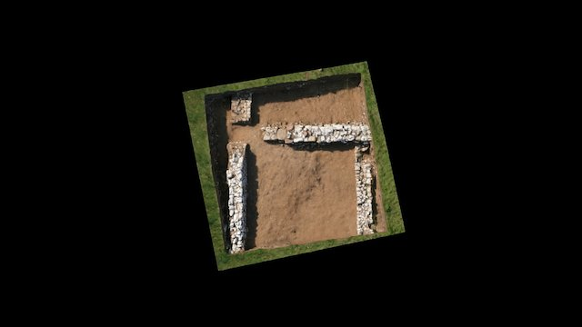 Trench S (stables) Thornton Abbey 3D Model