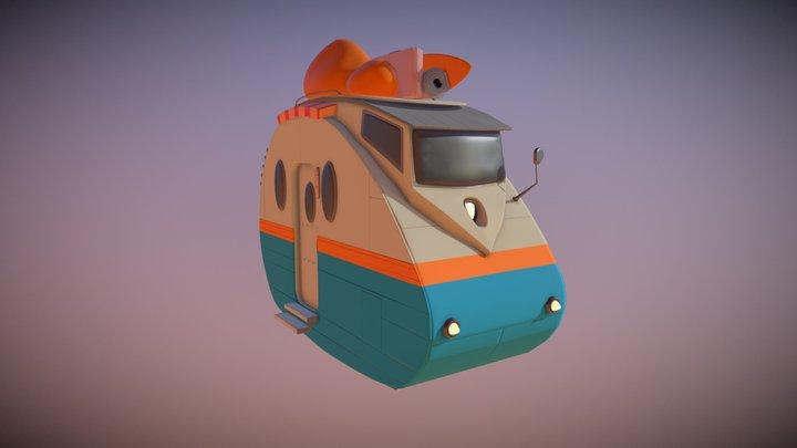 ZeCamper 3D Model