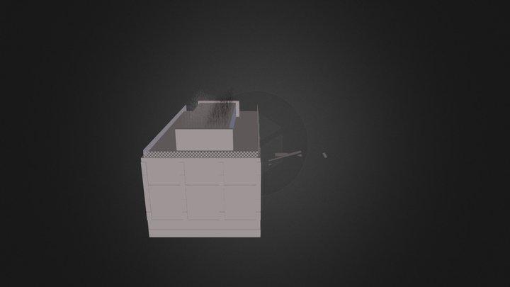 Swimming Pool Indoor 3D Model