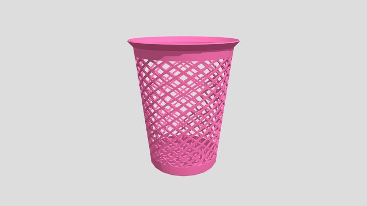 Basket Modeling 3D Model