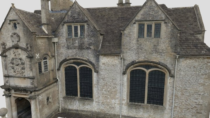 Corsham Building 3D Model