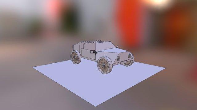 Carrinho- Vane 3D Model