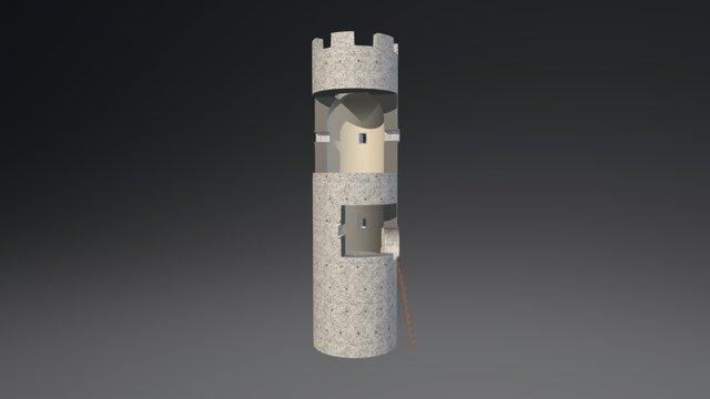Torre di Goriano Valli 3D Model