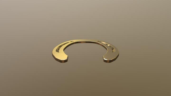 Kawell USA - Horseshoe Hind 3D Model